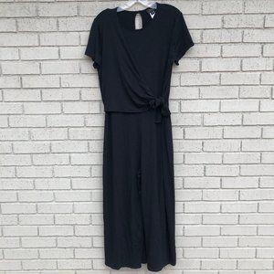 Like New J.Jill Black Knit Jumpsuit - PMedium